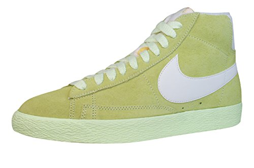 Nike Blazer Mid Suede Vintage Womens Schuhe Sneaker / Schuh - Lime Grün - SIZE EU 38.5 (Suede Womens Blazer)