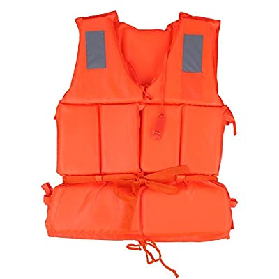 Adult/Child Swimming Life Jacket Buoyancy Aid Vest Safety Survival For Outdoor Water Sport Boating Drifting by VGEBY