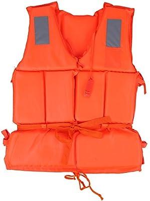 Chaleco Salvavidas Chaqueta De Natación Chaleco De Ayuda A La Flotabilidad Supervivencia De Seguridad Para Deporte De Agua Al Aire Libre Navegando A La Deriva Para Adultos / Niños