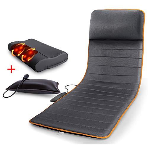 ANMOQICAI Multifunktionskörper Heizdecke Bett Massage Sitzkissen - Rückenmassagegerät Mit Wärme, Volle Rückenschmerzen Linderung, Massage Stuhl Pad Für Home Office Stuhl