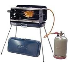 KOFFERGRILL - IN EDELSTAHL - KOFFER GRILL - mit 3 KOCHSTELLEN - 50 mbar Version - 80 cm Gasschlauch , Koffer, Seitenteile , Brenner und Kochplatten aus Edelstahl - MODELL: CRAMER BERGAMO - Vertrieb durch Holly Produkte STABIELO - Innovationen Made in Germany - Auch in 30 mbar lieferbar - Bei 30 mbar Grill nur ein Anschluß für eine Außengassteckdose vorhanden ! - holly-sunshade ®