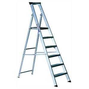 Advanced YOUNGMAN Industrial 1,2Meter Aluminium Plattform Schritt Ladder 6TREAD [1Stück]–-