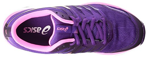 Asics Gel-zaraca 4, Chaussures de Running Compétition femme Violet (purple/silver/flamingo 3393)