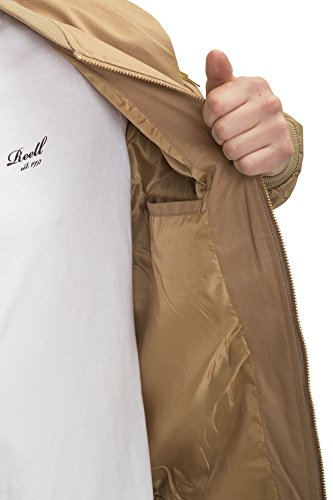 REELL Jacket Flight Jacket Artikel-Nr.1306-006 - 01-039 Dark Sand