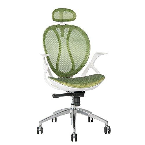 Vita Carver ergonomico self-weighting Syncro-Meccanismo di Inclinazione Poltrona traspirante Mesh sedia supporto lombare sedia da (Arms Girevole Sedia)