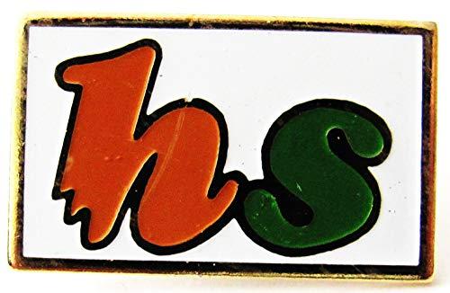 Firmenlogo hs - Pin 24 x 15 mm