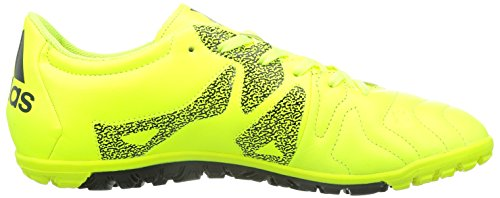 adidas Herren X15.3 TF Leather Fußballschuhe solar yellow-solar yellow-core black (B33004)