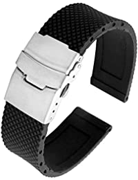 Bracelet montre caoutchouc 14mm