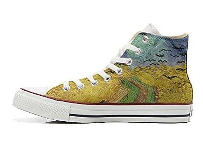 Converse All Star personalisierte Schuhe - Handmade Shoes - Van Gogh