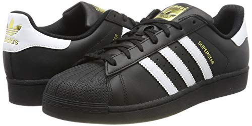 adidas Originals Superstar Foundation Herren Sneakers, Schwarz - 5