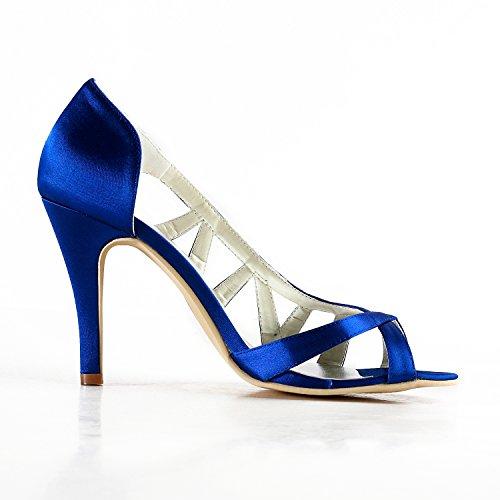 Minitoo , Escarpins pour femme Blue-10cm Heel
