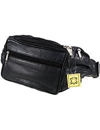 Jumbo leather bum bag
