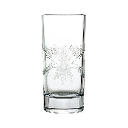Bicchiere Long Drink in cristallo cl 36 con LAVORAZIONE ARTIGIANALE