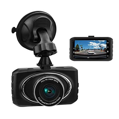 """TIANZZ Dash Cam 1080P Auto Armaturenbrett Kamera DVR Fahren Videorecorder 3""""LCD-Bildschirm 170 ° Weitwinkel,Black"""