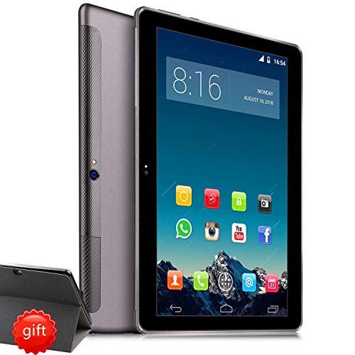 4g lte tablet 10 pollici hd - toscido w109 android 9.0 certificato da google gms, quad-core,64 gb rom,4 gb ram,wifi/bluetooth/ gps,suono stereo con doppio altoparlante - grigio