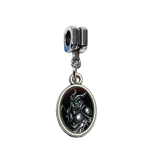 ittelalter Warrior Dragon Slayer Fantasy Italienisches europäischen Euro-Stil Armband Charm Bead–für Pandora, Biagi, Troll,, Chamilla,, andere (Slayer-kostüm)