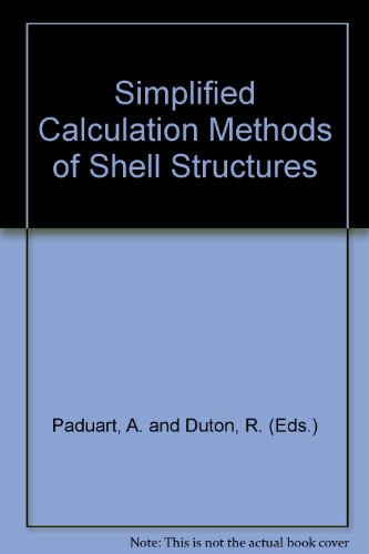 Simplified Calculation Methods of Shell Structures par A. and Duton, R. (Eds.) Paduart