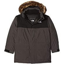The North Face McMurdo Down Veste Garçon, Gris (TNF Medium Grey Heather) , FR : XL (Taille Fabricant : XL)