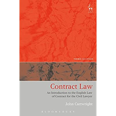 Contract Law : An Introduction to the English Law of Contract for the Civil Lawyer