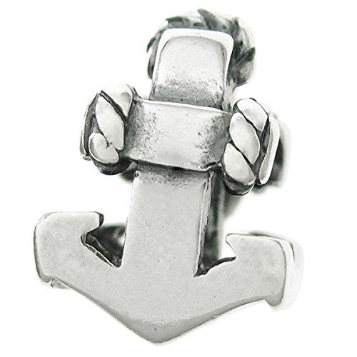 Argento sterling 925columbus mare nave marinaio di perline per braccialetti europei