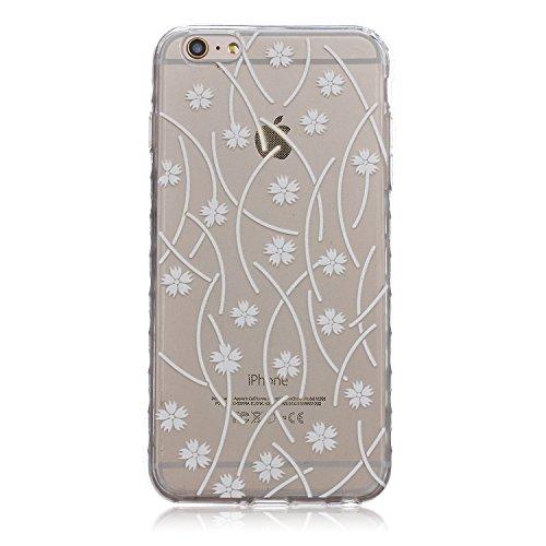 ZeWoo TPU Schutzhülle - BF050 / Hip-hop Owl - für Apple iPhone 6 Plus (5,5 Zoll) Silikon Hülle Case Cover BF030 / Fallende Blumen