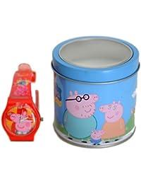 ORIGINAL PEPPA PIG Uhren Rot - DSPPR