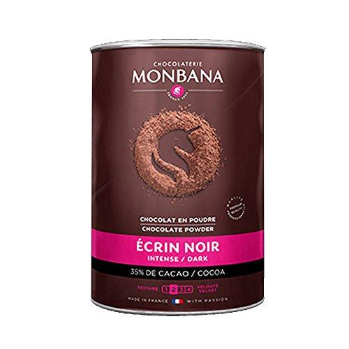 Chocolat en poudre Monbana - Ecrin noir - 35% de cacao - 1Kg