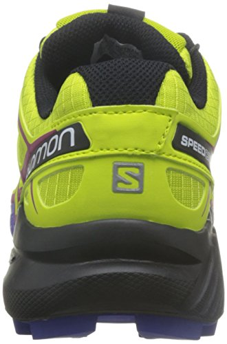 Salomon L39185900, Sneakers trail-running femme Vert