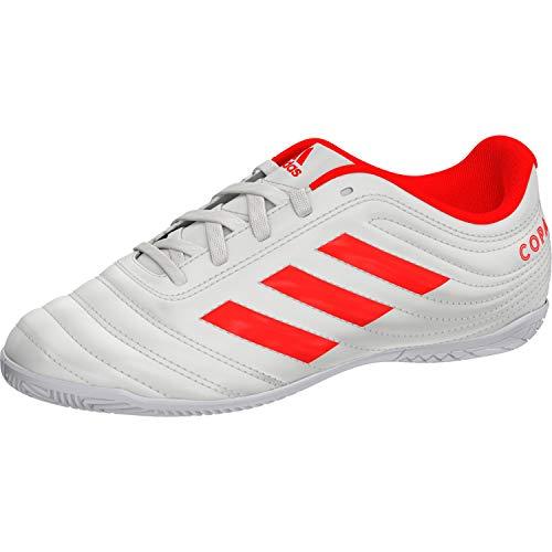 adidas Unisex-Kinder Copa 19.4 In J Fußballschuhe, Mehrfarbig (Casbla/Rojsol/Ftwbla 000), 32 EU - Adidas-fußball-schuhe-indoor