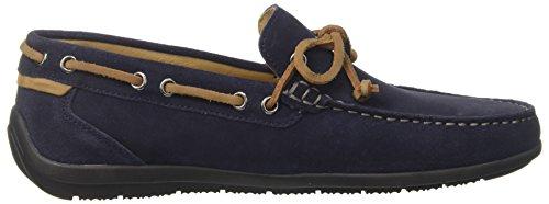 Lumberjack Herren leman Slipper Blu (Navy Blue)