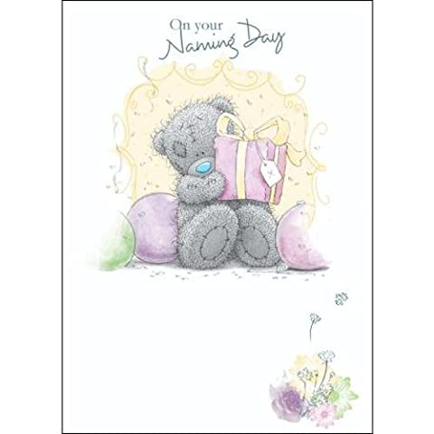 Babys Naming Day Me to You Bear Card