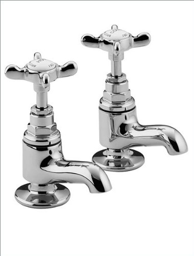 Bristan 1901 Vanity Basin Taps Gold Plated