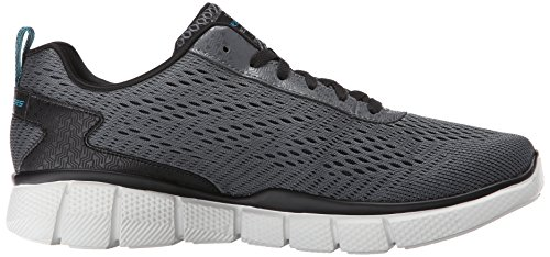 Skechers Equalizer 2.0 Settle the Scor, Chaussures Multisport Outdoor Homme Gris (Ccbk)