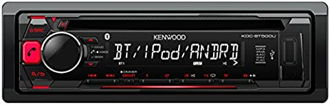 Kenwood KDC-BT500U Autoradio USB/CD-Receiver mit Bluetooth und A2DP, Apple iPod-Steuerung