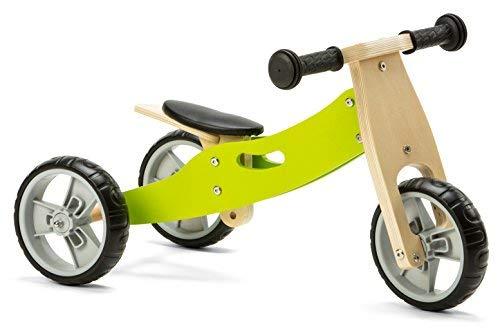 Nicko NIC803 - Bicicleta de Equilibrio, Color Verde, Talla única