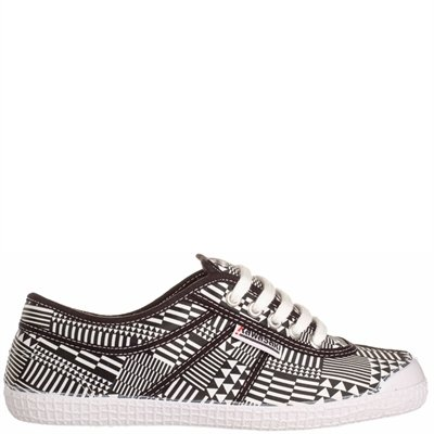 Kawasaki Woman Sneaker Geo White/Black 37