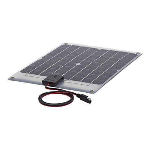 Biard Pannello Solare Semi Flessibile Fotovoltaico 10W - Monocristallino - Per Ricaricare Batterie di 12V - Ideale Per Camper, Nautica e Caravan - Finitura Colore