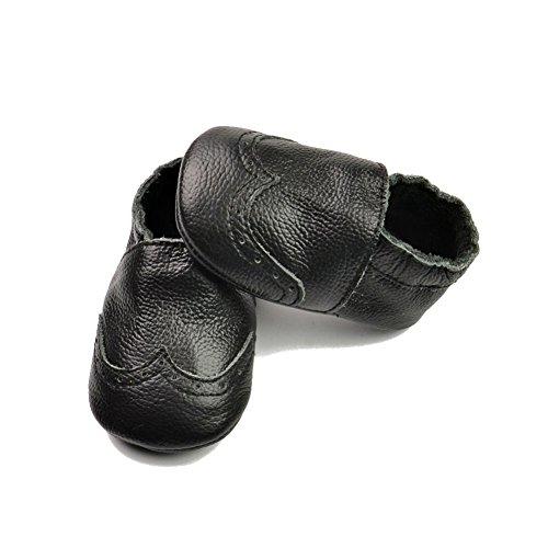Leap Frog  Moccasins Boots,  Baby, Jungen Mokassins Schwarz