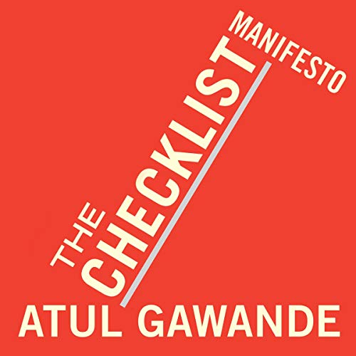 The Checklist Manifesto: How to Get Things Right Profil Audio