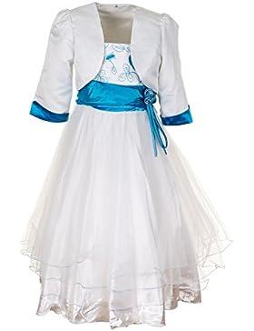 Fijo étnico vestido de niña con Bolero en 3colores