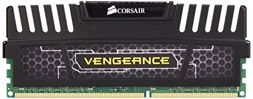 Corsair Vengeance Schwarz 8GB (1x8GB) DDR3 1600 MHz (PC3 12800) Desktop Arbeitsspeicher (CMZ8GX3M1A1600C10)