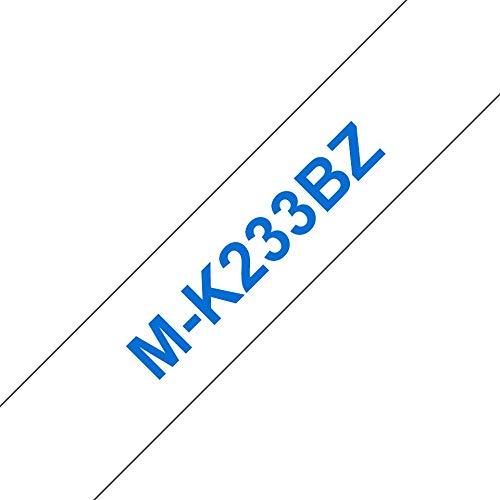 Brother mk-233bz Labelling Tape (12mm) M Band d Etikett-Bänder D Etiketten (M, 8m, 1,2cm)
