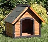 Niche pour chien en bois 72x 76cm pour animaux domestiques accessoires extérieur jardin