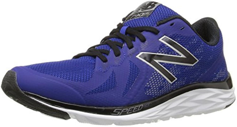 New Balance M790V6 Running Shoe M  Herren Laufschuhe  Blau   Marine Blue/White   Größe: 45