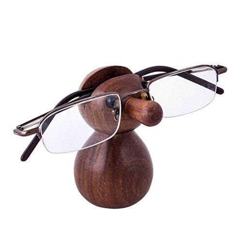 Stylla London Lese-Brillenhalter, handgefertigt, nackte Form, aus Holz, ausgefallenes Geschenk für Männer und Frauen