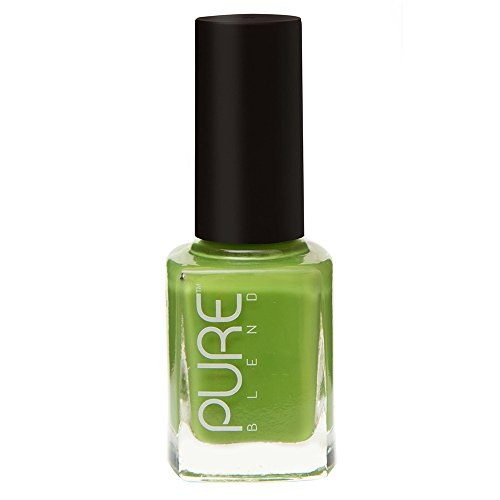 PURE BLEND Toxic Free Luxury Nail Polish - Spring Break - Apple Green Crème - 9 ml