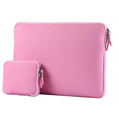 Laptop Hülsen Beutel Abdeckung für 13-13.3 Zoll Notebook Baby Rosa