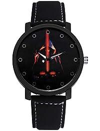 PZXY Reloj de Cuarzo Reloj de Cuarzo para Hombre de la Correa del Planeta. Reloj
