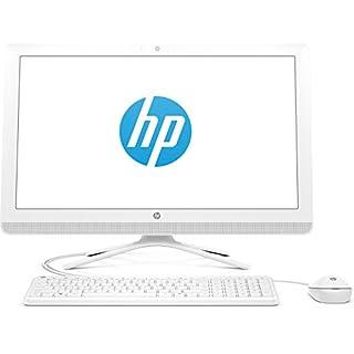 HP (24-g055ng) 60,45 cm (23,8 Zoll / Full HD-IPS) All-in-One Desktop PC (Intel Pentium J3710, 8 GB RAM, 1 TB HDD, Intel HD Graphics, Windows 10 Home 64) weiß