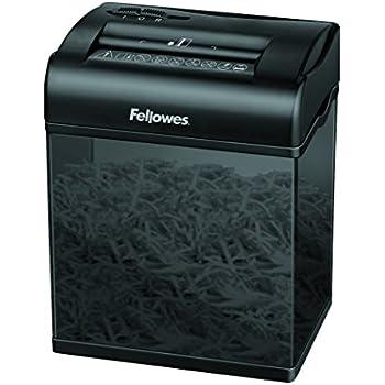 Fellowes 3700501 Mini Destructeur de Documents Shredmate 4 Feuilles Coupe Croisée - Cartes de Crédit et Agrafes